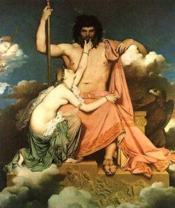 Giove e Teti - Jean - Auguste - Dominique Ingres